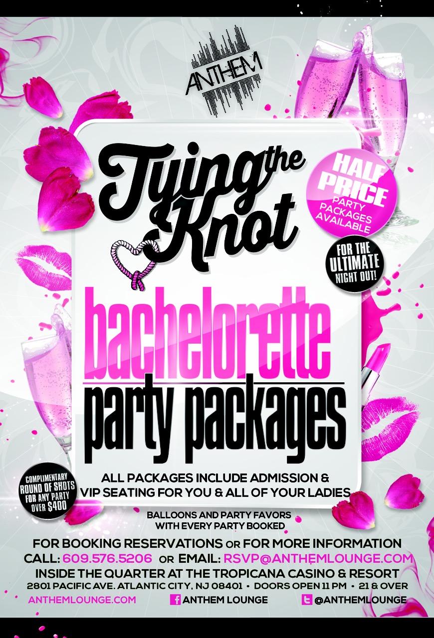Bachelorette parties anthem lounge atlantic city nj for Best cities for bachelorette parties